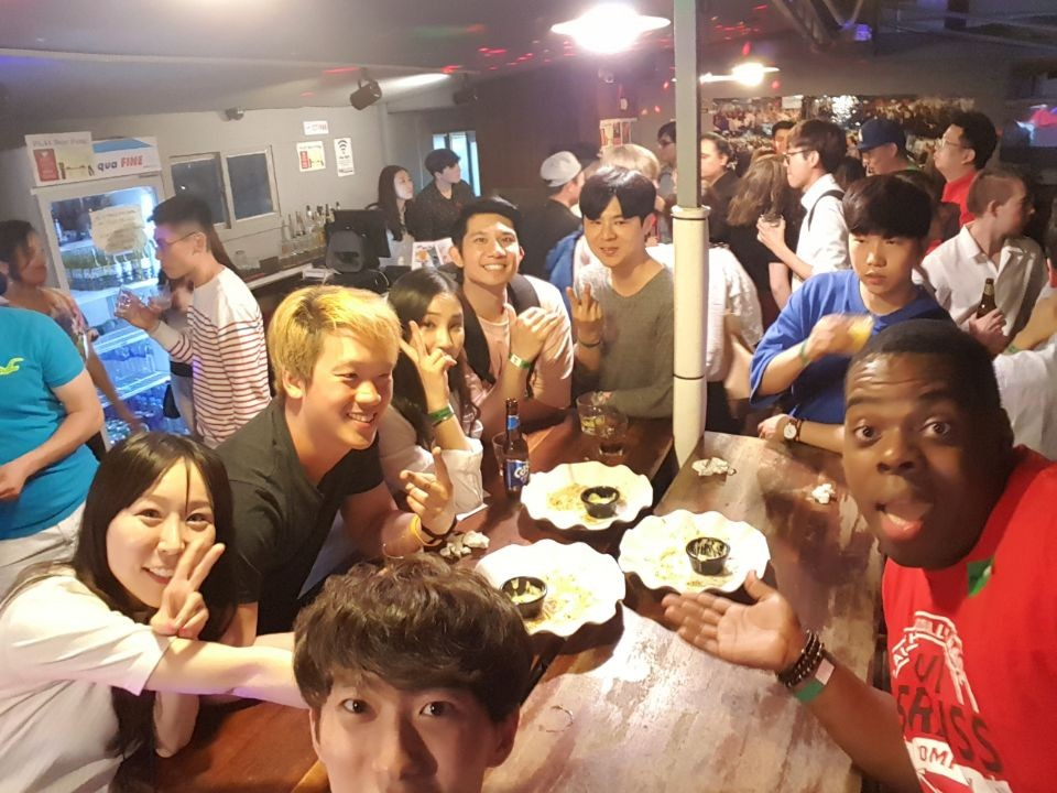 [Hongdae] Rooftop Party + Club FREE