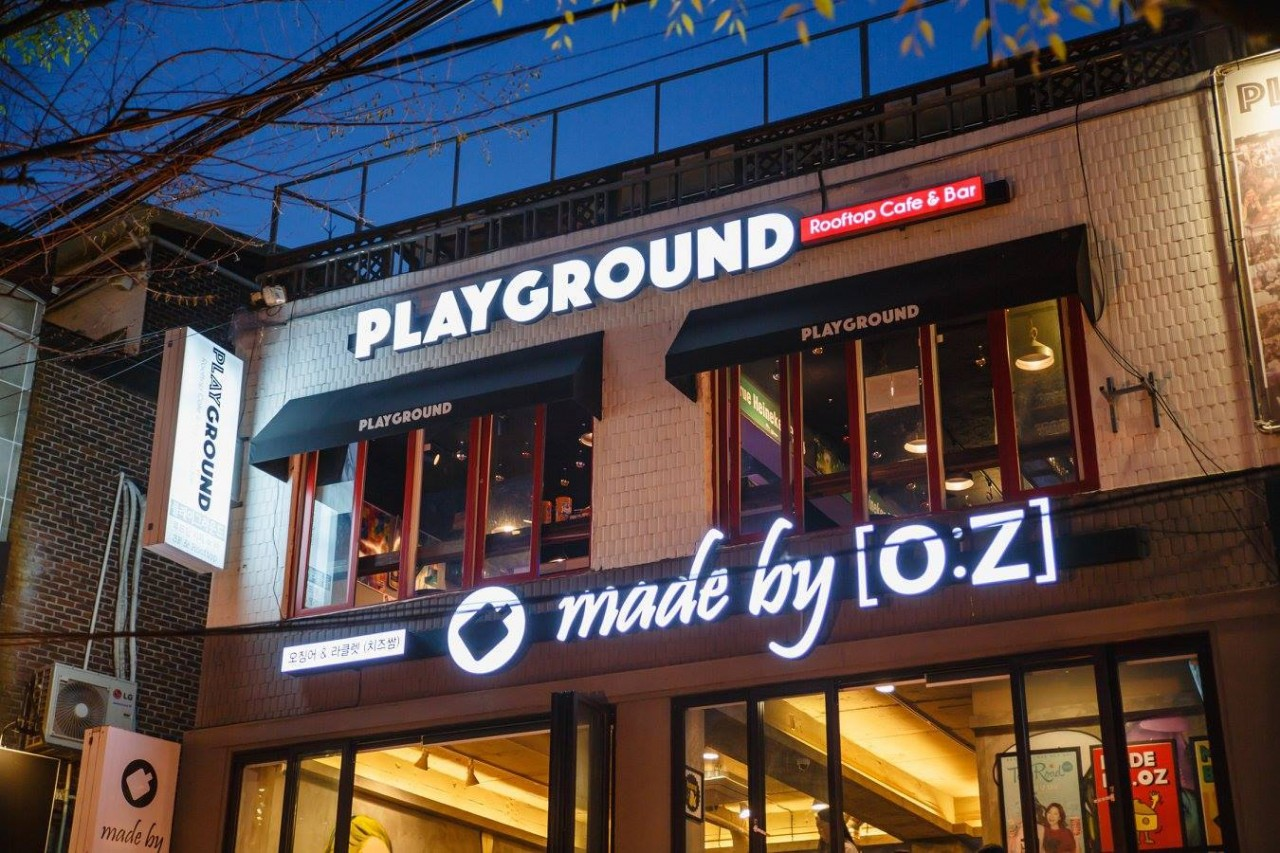 How I made new friends at Hongdae's hottest hangout: PLAYGROUND.